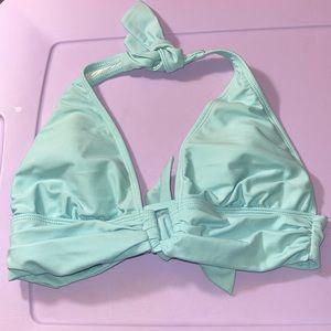 Obvious Baby Blue Bikini Top